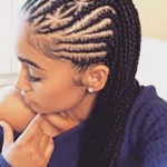 Put your own remix to classic cornrow styles