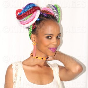 Kinky Hair Carnival Colour Braids