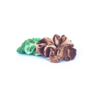 Kinky Hair Scrunchies Hair Bands