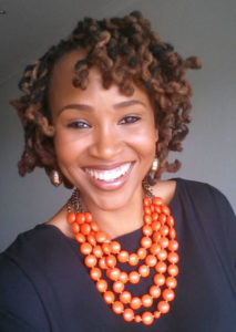 Happy Claire Mawisa with Kinky Hair