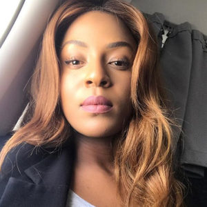 Jessica Nkosi Blonde like Beyonce with Kinky Hair