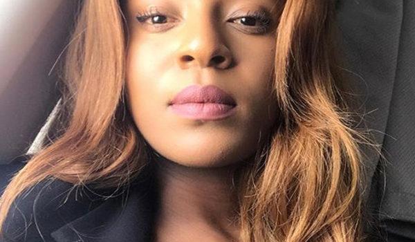Jessica Nkosi Celebrity Crush with Kinky Hair