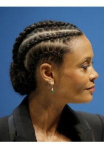 3. Cinnamon bun braids